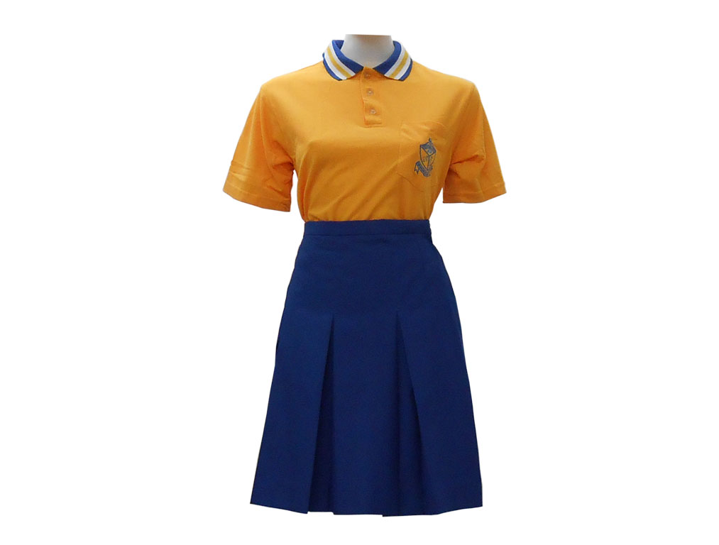Pelotona  High School Golf Shirt & Skirt