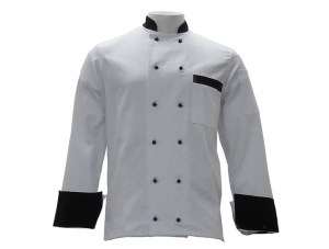 cheffs-jacket-white-with-black-buttons-and-cuffs