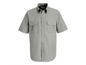 grey-shor-sleeve-shirt