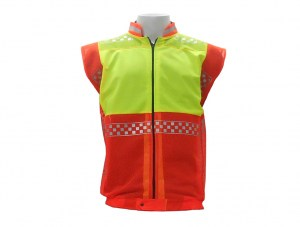 police-lime-zip-up-bib