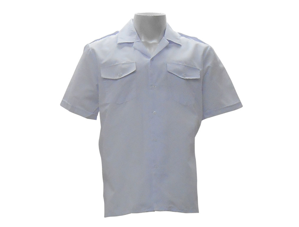 White Security Pilot Shirt