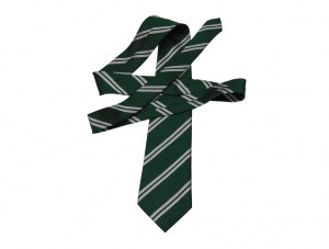green-with-white-stripes-tie
